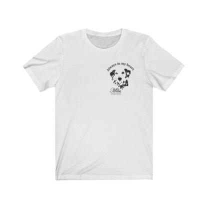 Millie Memorial Dalmatian T-shirt