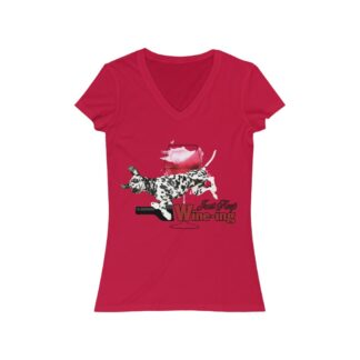Dalmatian t-shirt - Just Keep Wine-ing