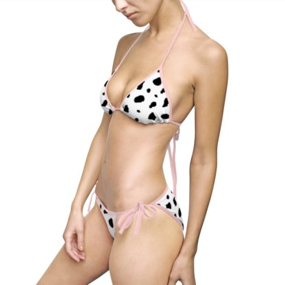 Dalmatian spotted swim suit