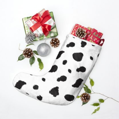 Dalmatian spotted Christmas Stocking