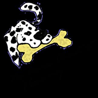 No Bones About It - I Love My Dalmatian