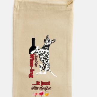 Dalmatian wine bag